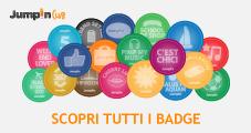 Banner Badges Jumpin Club
