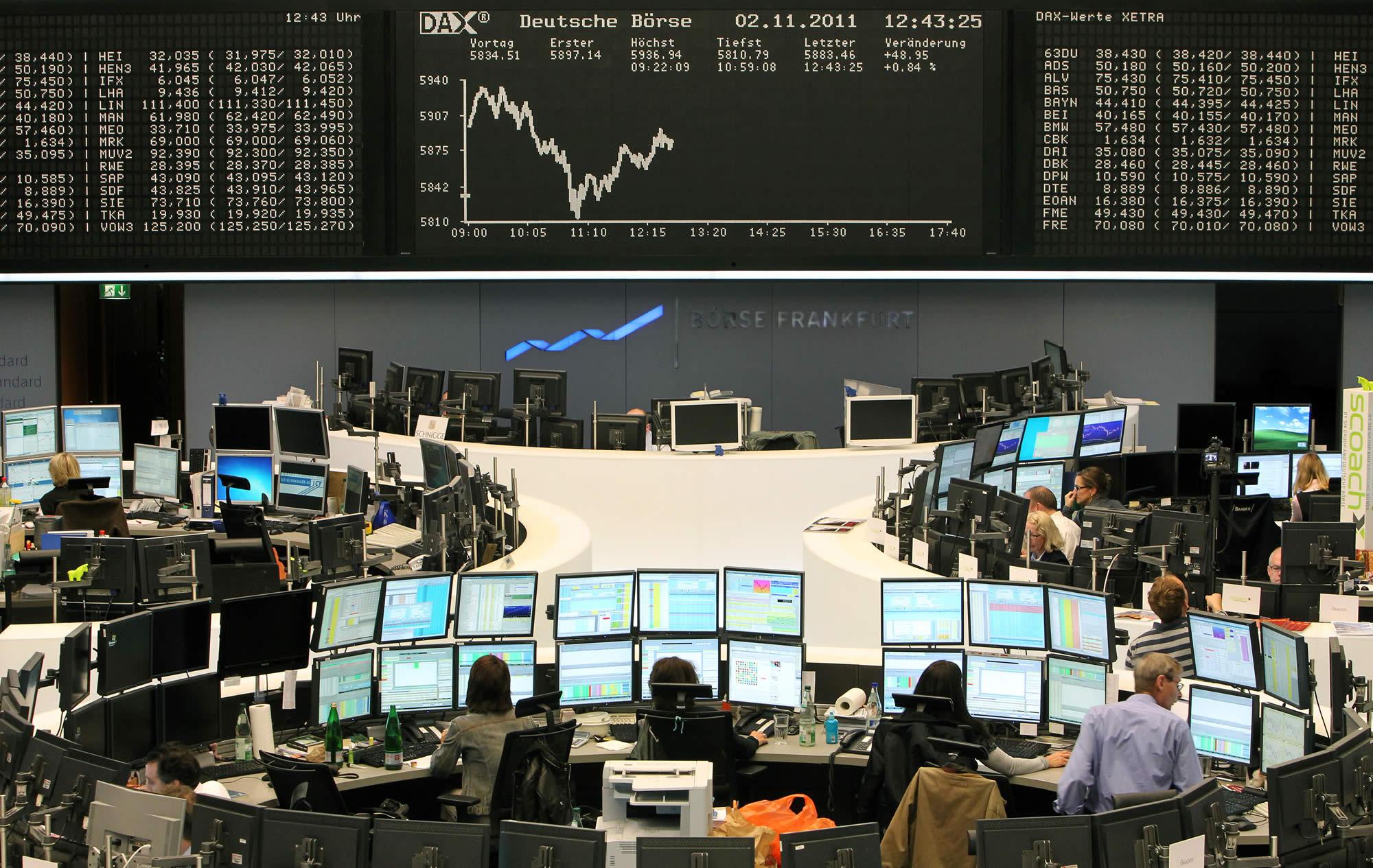 7e1931fa87 Borse europee tutte in rosso e lo spread ritorna a salire