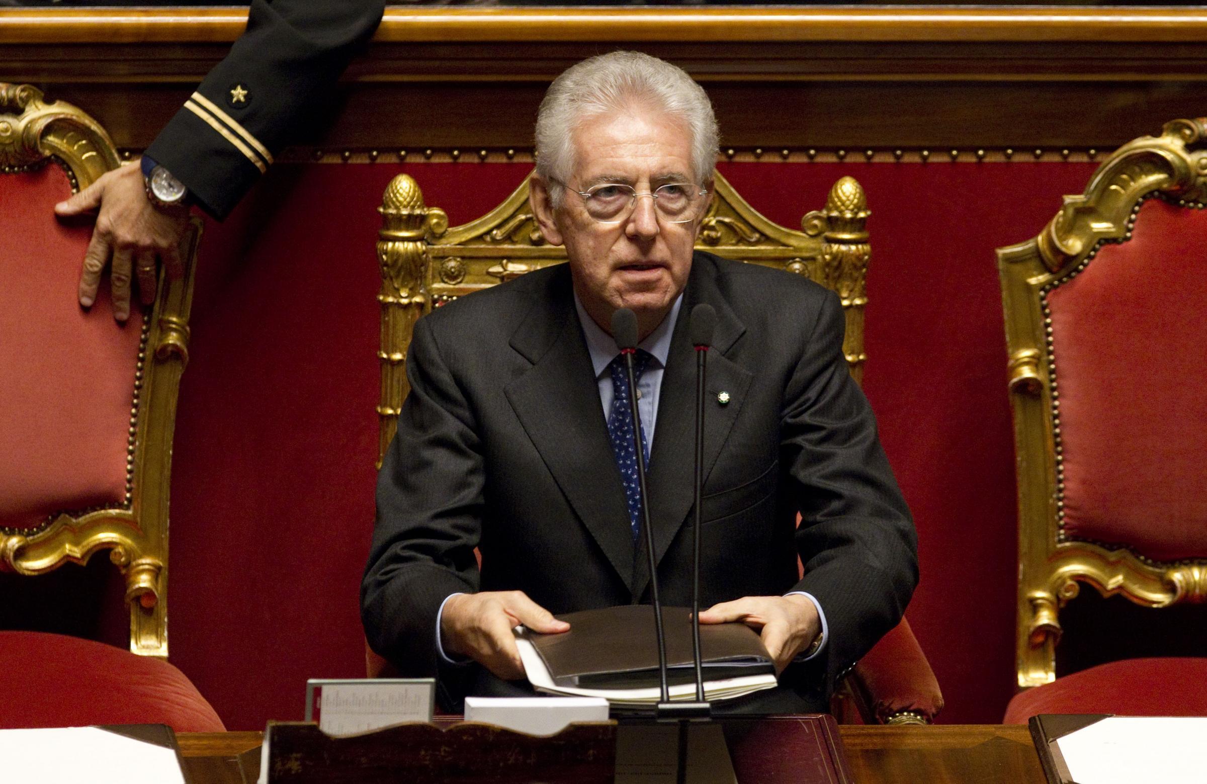 Il governo monti alla prova della camera la diretta del for Diretta parlamento oggi