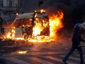scontri 15 ottobre roma