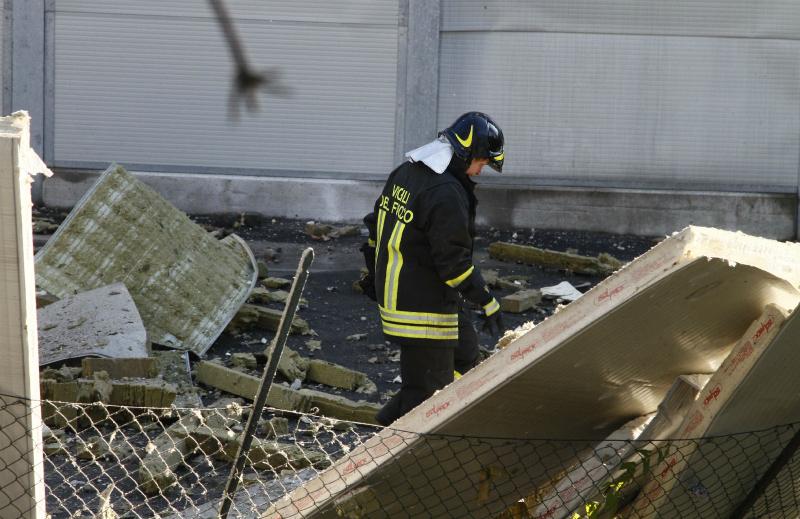 Ancora un incidente sul lavoro un 39 esplosione in una for Offerte lavoro bergamo subito