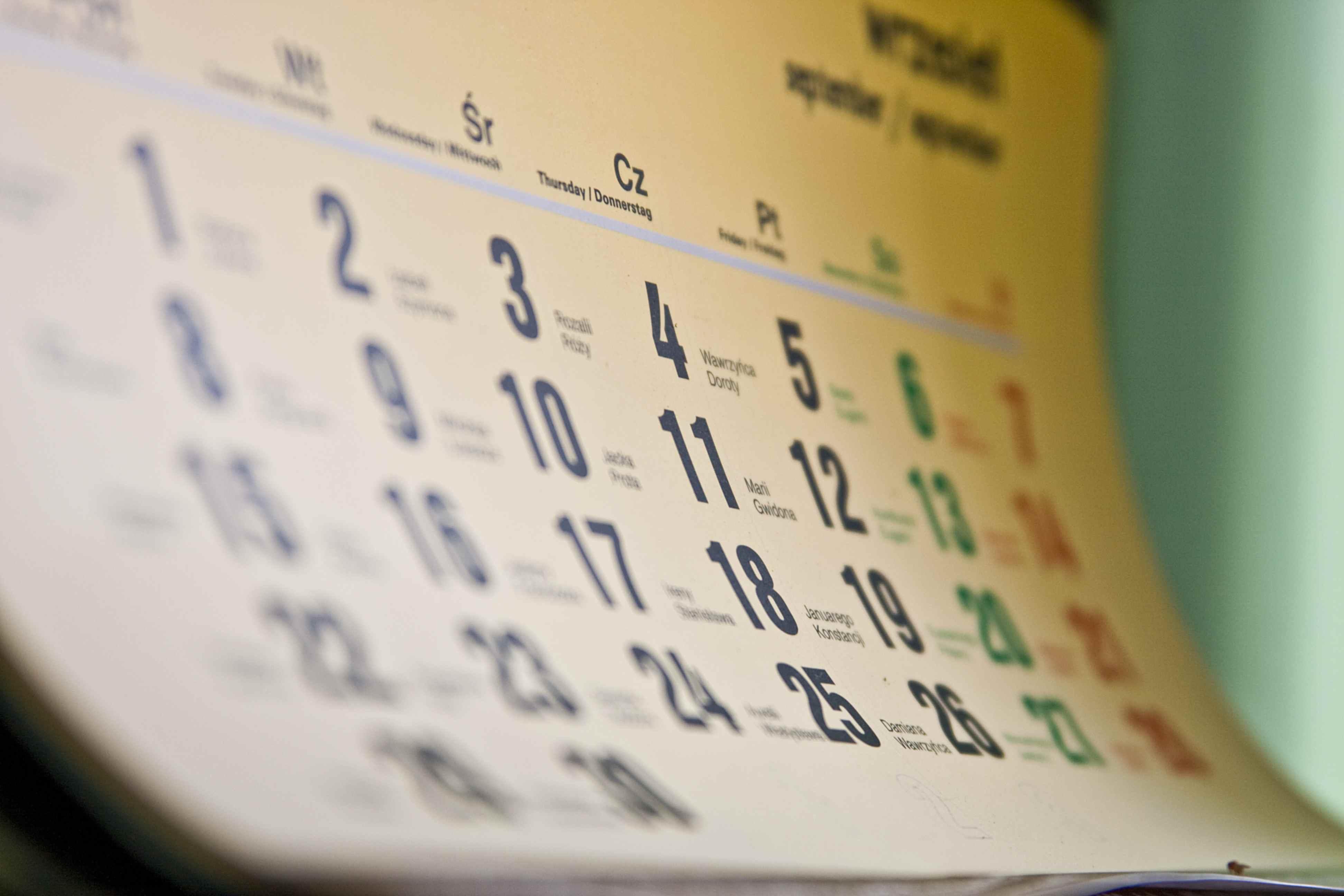Riforma Calendario Gregoriano.Tempo Di Cambiare Radicalmente Il Nostro Calendario