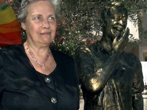 La candidata alle primarie del centrosinistra, Rita Borsellino