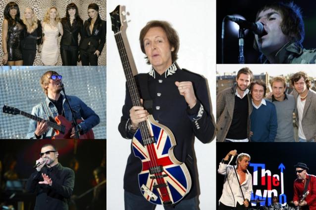 Grandi nomi della musica per il grande evento olimpico, da Paul McCartney alla cerimonia d'apertura a sette grandi nomi per i festeggiamenti finali.