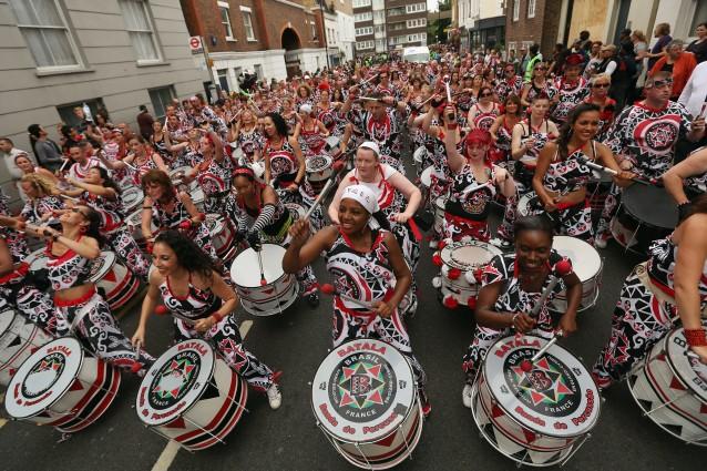 Il pazzo carnevale di Notting Hill (FOTO).