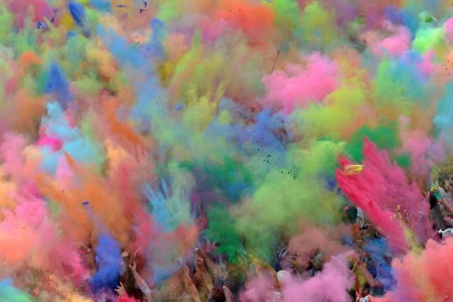 Berlino, Holi Festival: la Festa dei Colori