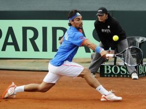 Non è ancora finito il playoff di Coppa Davis tra Italia-Cile. Oggi Fognini ha regalato il secondo punto agli azzurri, ma Seppi e Bracciali sono stati sconfitti da Aguilar e Capdeville. Domattina si giocheranno gli ultimi due incontri.