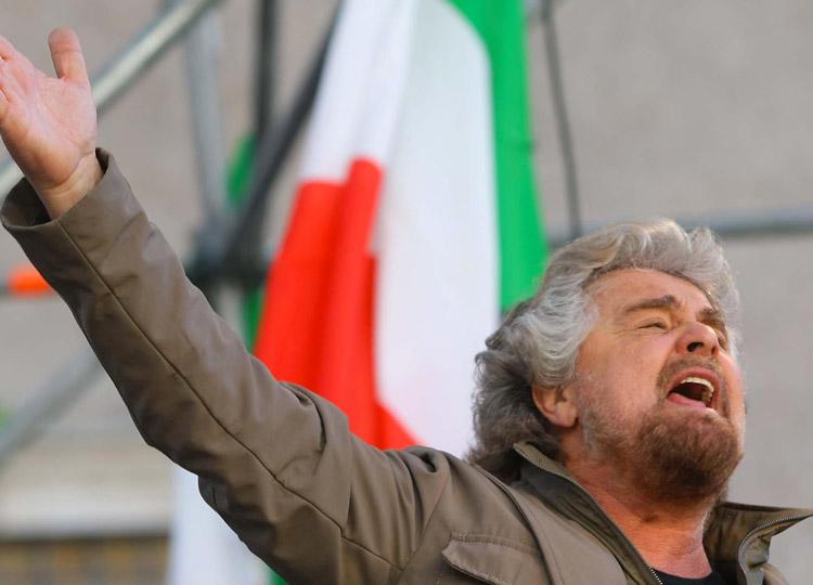 Beppe Grillo - La Deve Smettere!