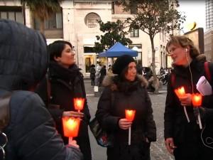 Protesta delle case famiglia a Napoli