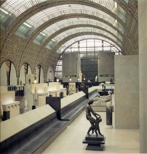 Musée d' Orsay – Parigi (1980–1986), Gae Aulenti. Foto Mimmo Jodice