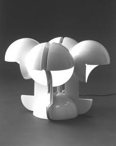 Lampada Ruspa, Gae Aulenti 1967–Martinelli