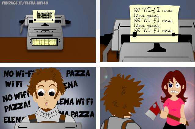 Dipendenza da Wi-Fi