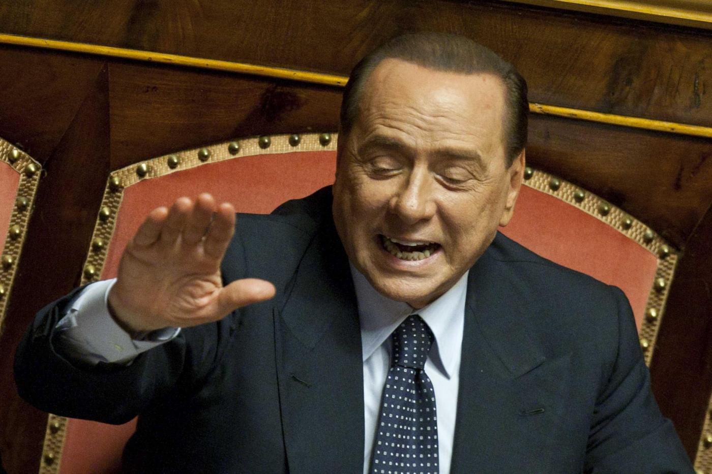 Berlusconi convoca i parlamentari pdl riforma della for Parlamentari pdl