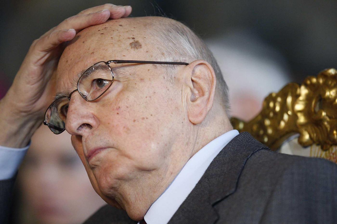 Dimissioni pdl napolitano assurdo evocare un colpo di stato for Parlamentari pdl