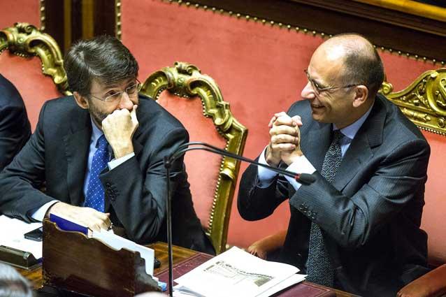 Il governo letta chiede la fiducia alla camera dei for Diretta tv camera deputati