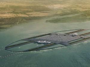 """Londra, progettato nuovo aeroporto sul Tamigi: """"Sarà il più grande del mondo"""""""