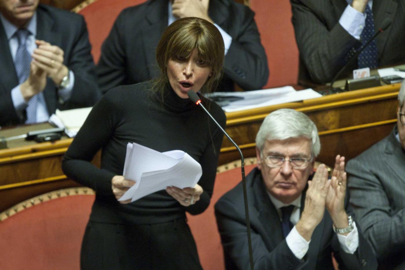 Decadenza di berlusconi s del senato diretta for Parlamentari forza italia