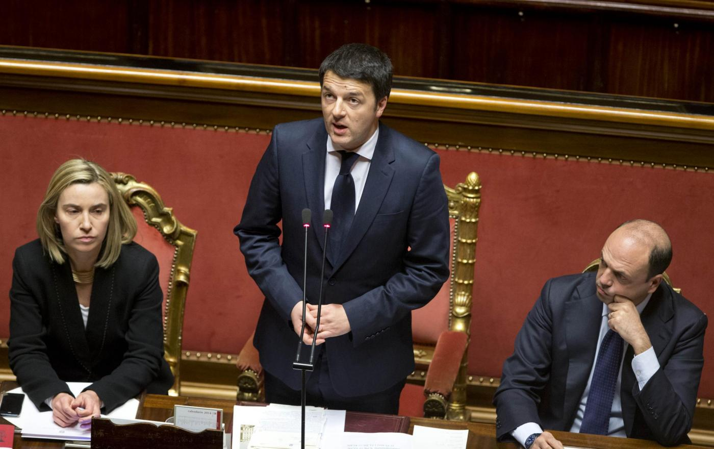 Governo renzi voto di fiducia alla camera diretta streaming for Diretta camera dei deputati streaming