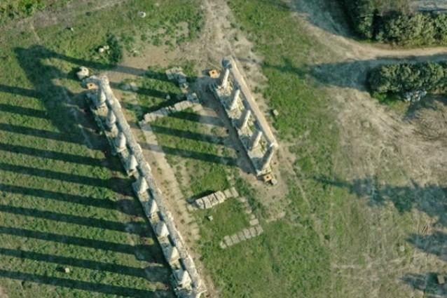 Maltempo, danni in Calabria: crolla il tempio Kaulon