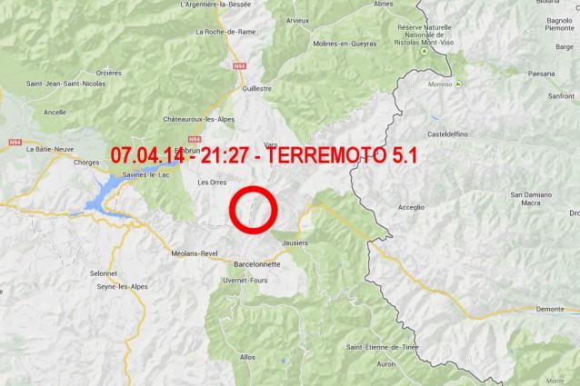 Terremoto a Torino