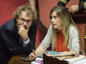 "Maria Elena Boschi difende Luca Lotti: ""Grande gesto da part"