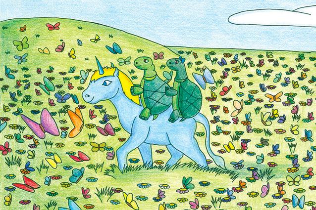 L 39 unicorno triste l 39 autismo spiegato anzi disegnato ai for Unicorno triste