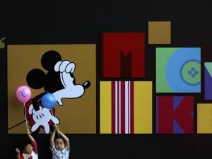 Giochi per bambini al Museo d'Arte Contemporanea