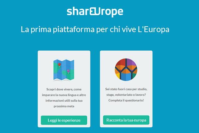 Shareurope, arriva il social network per condividere le esperienze in Europa