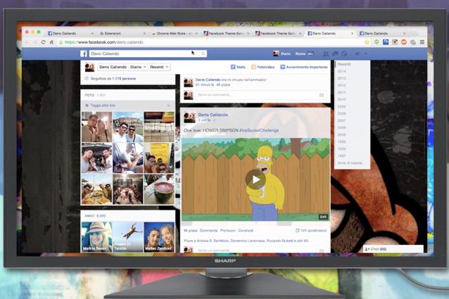 Come personalizzare la grafica di Facebook [VIDEOGUIDA]