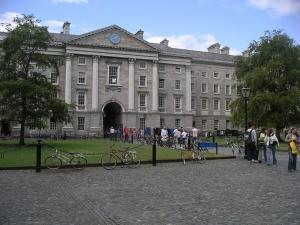 Dublino Trinity College san patrizio