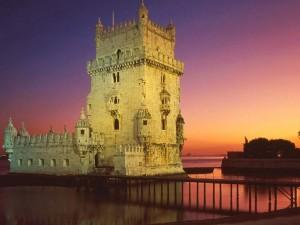 La Torre de Belem a Lisbona, in Portogallo