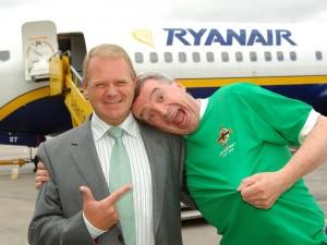 O'Leary, CEO Ryanair, a Belfast