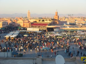 Marrakech, importante città del Marocco