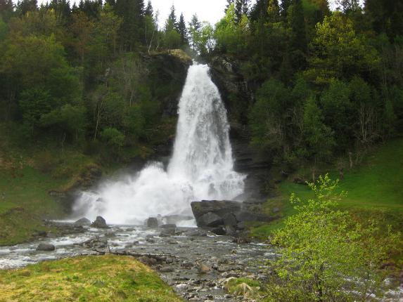 getti d'acqua norvegesi
