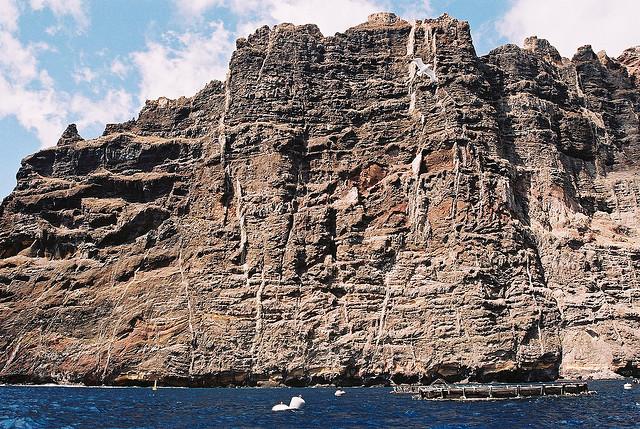 scogliere acantilados de los gigantes