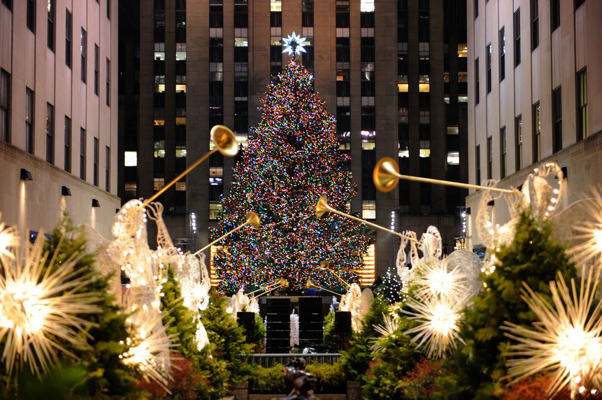 Natale 2012 a New York sotto le luci del Rockefeller ...
