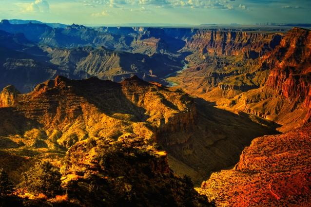 canyon nel mondo