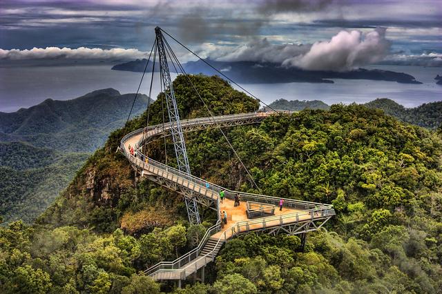ponti langkawi sky bridge