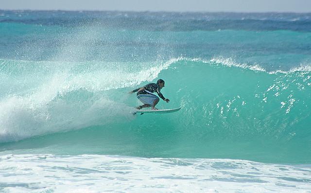 barbados barreling wave