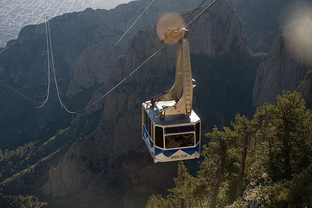 funivie sandia peak mountain