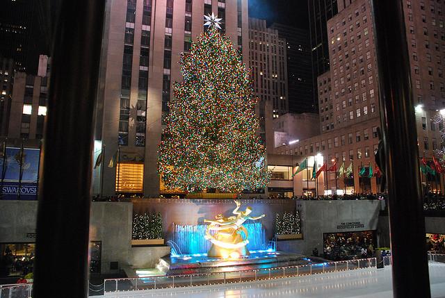 alberi di natale new york