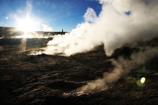 geyser cile el tatio