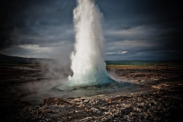 geyser iceland geysir