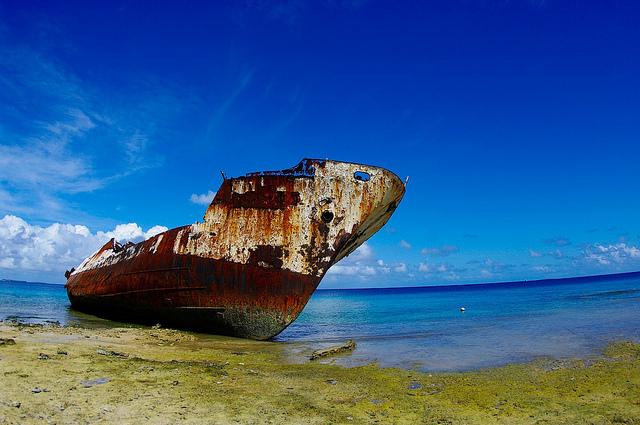 tuvalu relitti seconda guerra mondiale