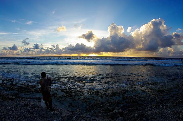 tuvalu tramonto