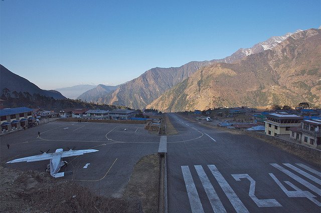 Tienzing Hillary Airport, Lukla, Nepal
