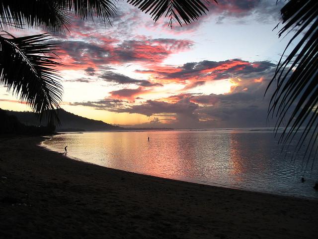 spiaggia delle Samoa