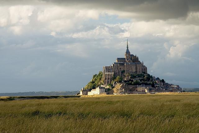 Mont Saint-Michel, Normandia