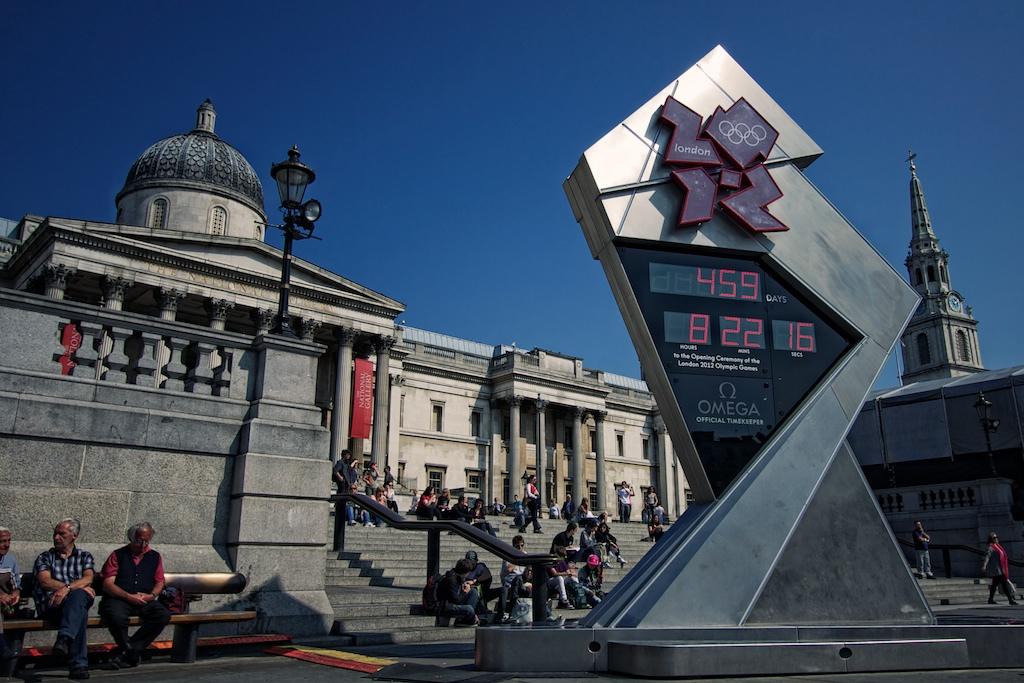 Dove vedere le olimpiadi di londra i maxi schermi per l for Londra dove soggiornare