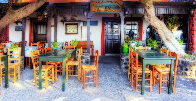 Santorini, Taverna
